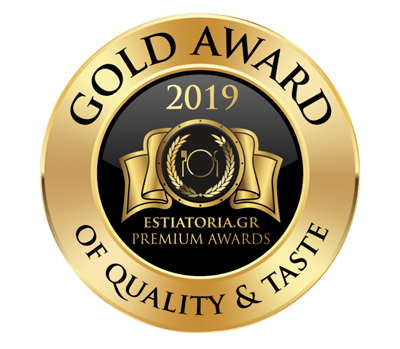 Gold award of quality & taste